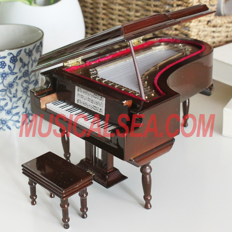 miniature piano musical instrument handmade c