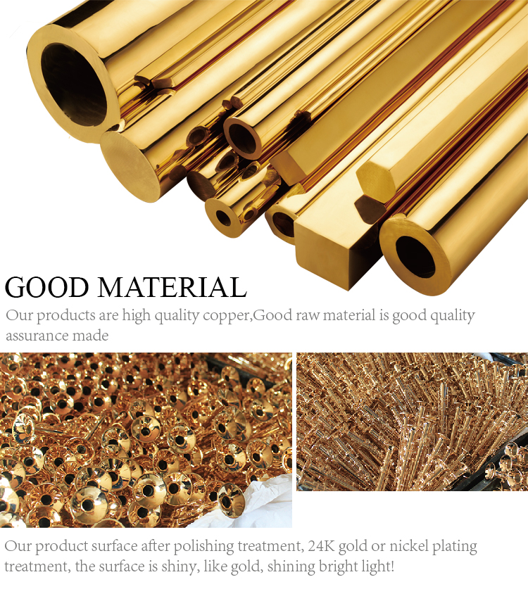 metallic material handmade craft