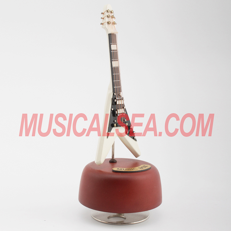 High quality wooden miniature guitar