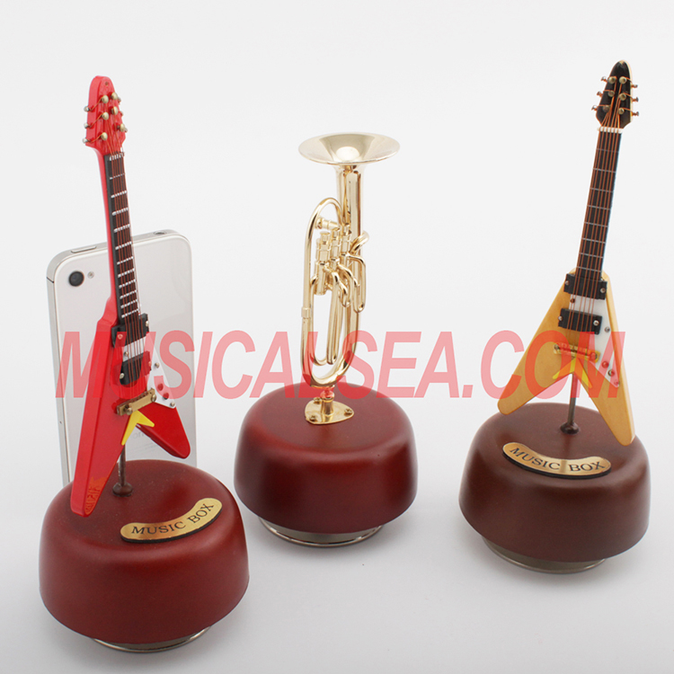 miniature Guitar music box