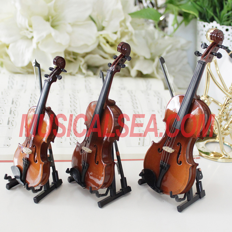 Miniature violin / Cello toy for christmas or