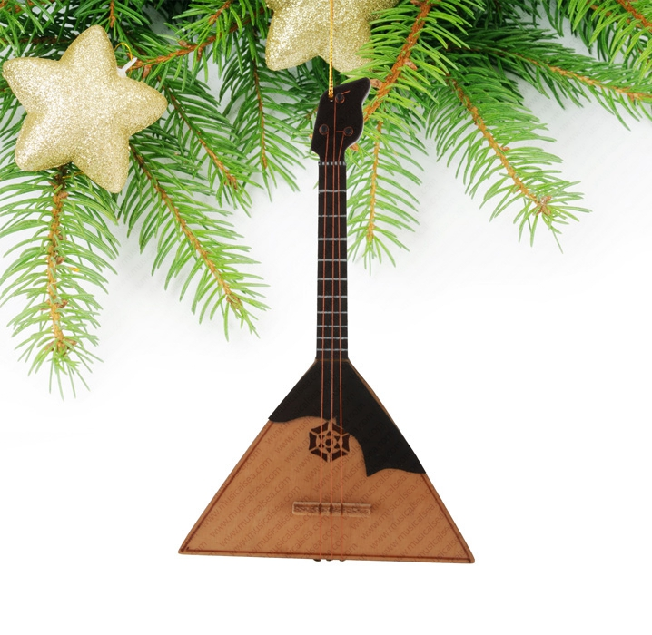 Miniature balalaika and Russian home decorati