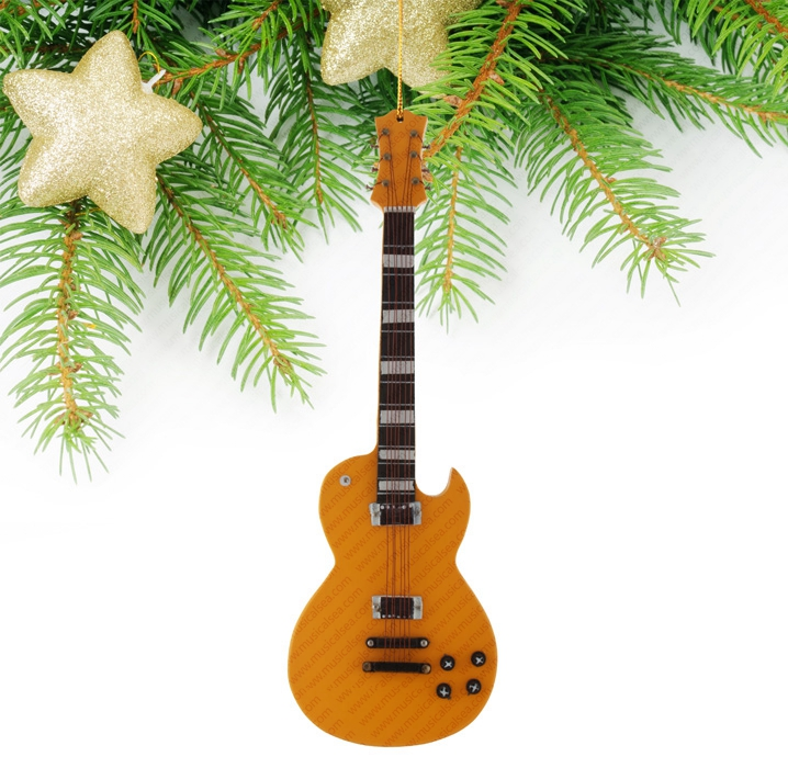 Miniature Orange Guitar-TEG49