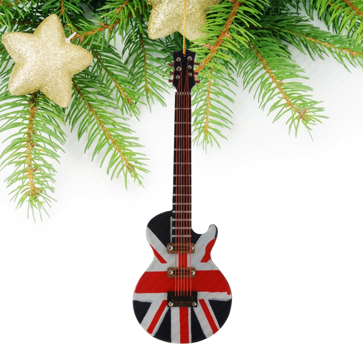 Miniature the Union Jack Guitar-TEG41