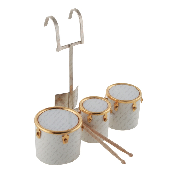 Miniature Drum Set Parts