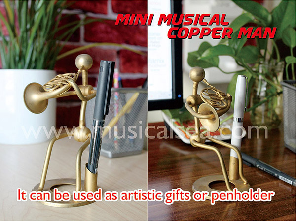 artistic gifts pencil vase performer Miniature Musical Instruments